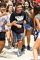 cameron dallas splashes around shirtless in miami02