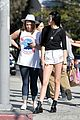 kendall jenner long legs sunday outing 11