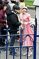 saoirse ronan brooklyn pink dress 15