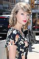 taylor swift floral dress gym nyc 02