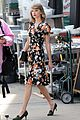 taylor swift floral dress gym nyc 10