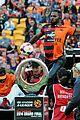 jason derulo jumps around at the australian football a league grand final11
