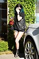 kendall jenner arrives cannes kylie touches up blue hair 07
