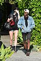 kendall jenner arrives cannes kylie touches up blue hair 14