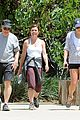 lea michele hike parents funny girl 06