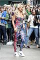 rita ora flower chanel jumpsuit 18