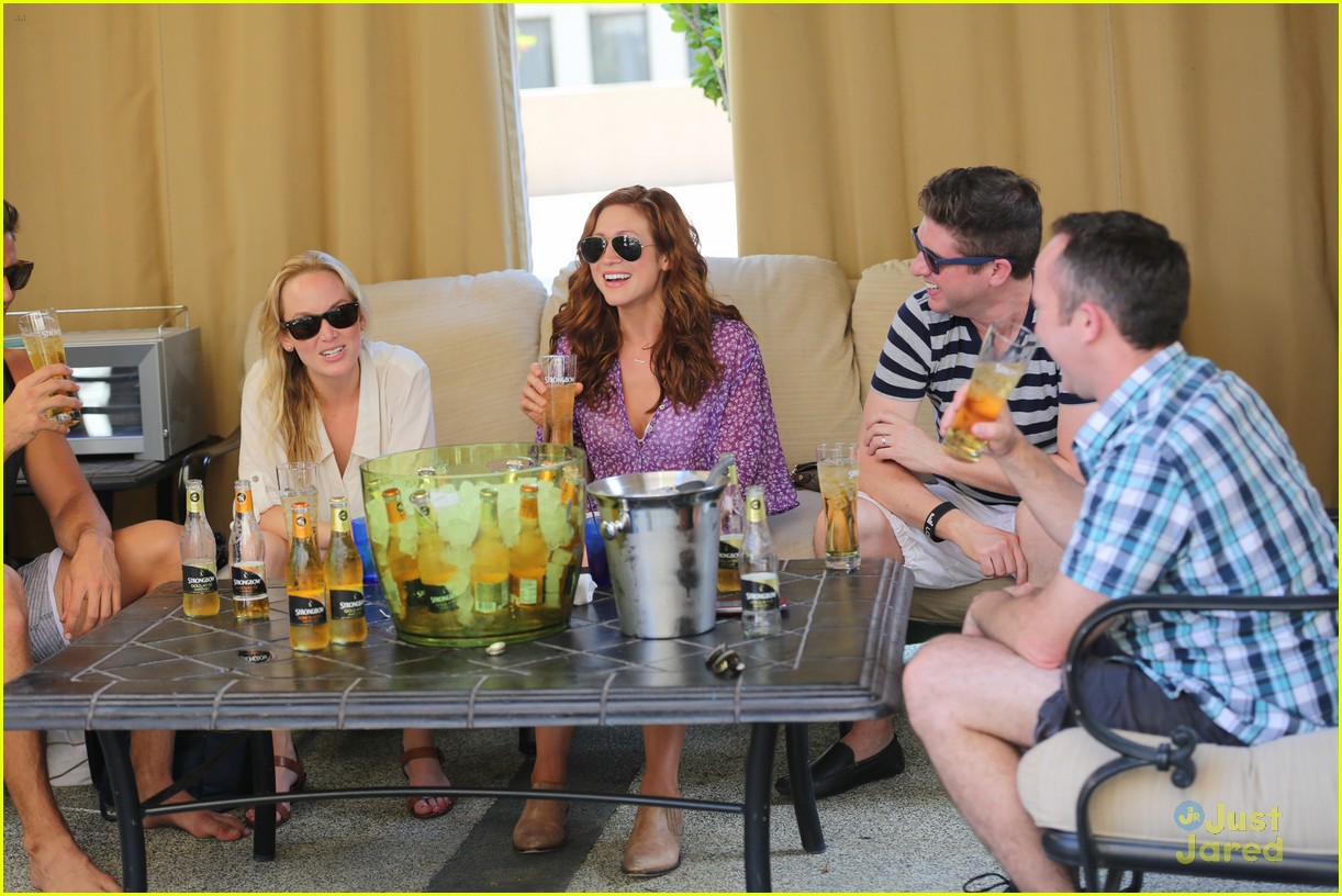 anna camp glamping brittany snow vegas 16
