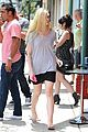 elle fanning switches casual chic outfits errands 14