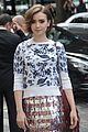 nina dobrev lily collins chanel paris fashion week 13