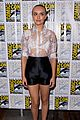 olivia cooke shaves head bates motel sdcc 03