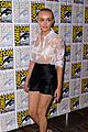 olivia cooke shaves head bates motel sdcc 11