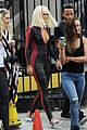 iggy azalea rita ora wear skin tight outfits for black widow music video 18