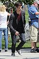 grant gustin emily bett rickards flash arrow crossover filming 22