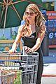 ashley greene dresses up grocery shopping 03