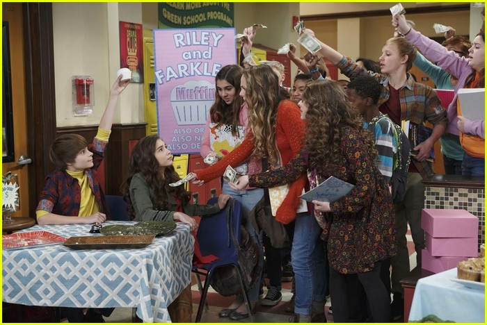 Sabrina Carpenter   Peyton Meyer Continue to Make Maya   Lucas Our Favorite  Friends on  Girl Meets World  4c4ecec743d