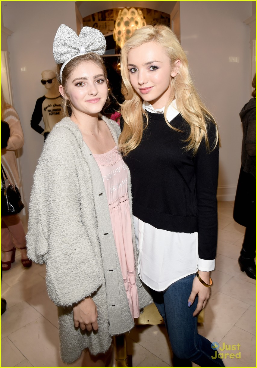 peyton list g hannelius party it up with wildfox photo 731479