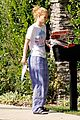 iggy azalea checks mail in comfy pjs 15
