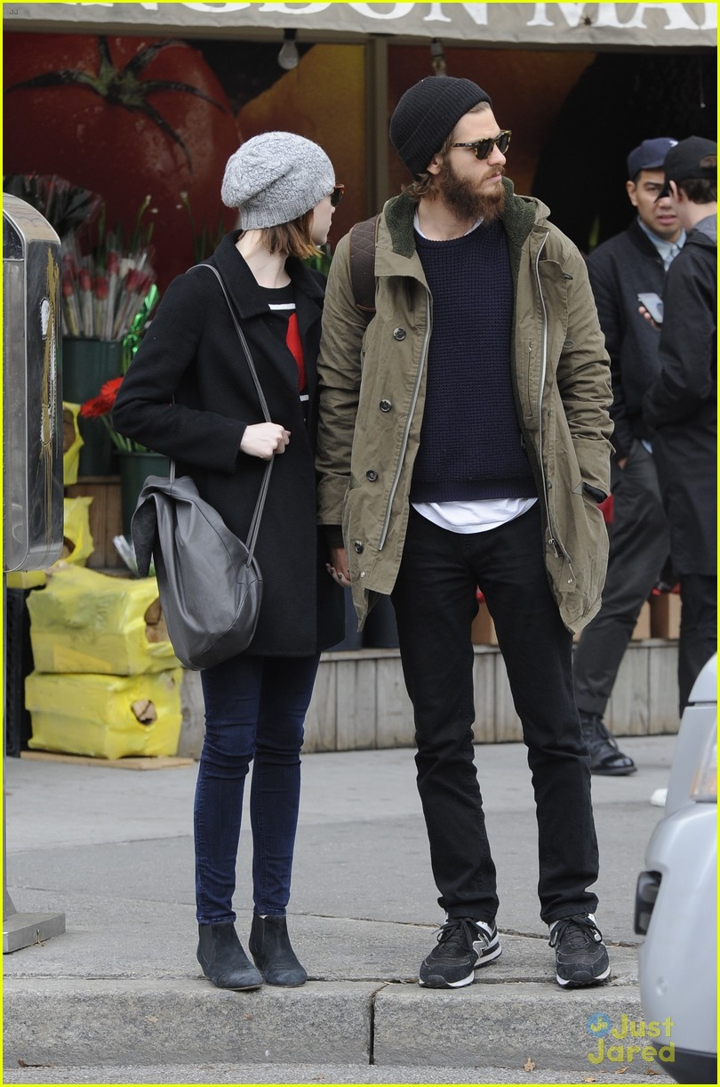 emma stone andrew garfield get alone time 20