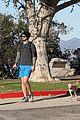 ashley greene hikes to burn holiday calories 13