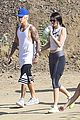 justin bieber lunch hailey baldwin hiking kendall jenner 18
