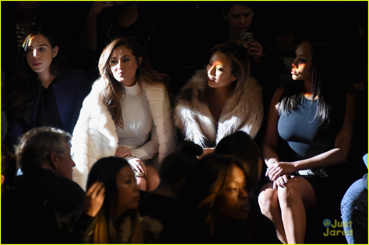 adrienne bailon nyfw events solo album details 10