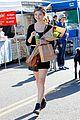 stefanie scott stocks up on supplies at farmers market 03