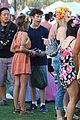 sarah hyland dominic cooper make out at coachella 12