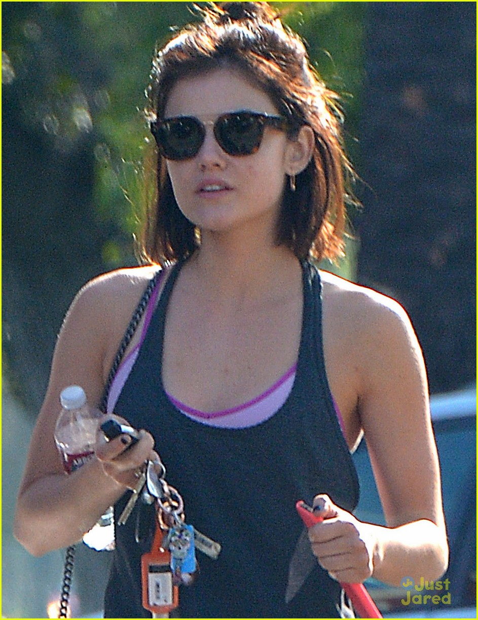 Full Sized Photo Of Lucy Hale Only Misses Long Hair Sometimes 05 Lucy Hale Loves Having Her Hair Short But Reveals She Does Miss It Sometimes Just Jared Jr