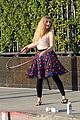 willow shields mark ballas beach balls hula hoops dwts 25