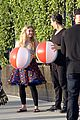 willow shields mark ballas beach balls hula hoops dwts 35