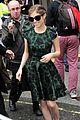 anna kendrick green dress bbc radio visit 07