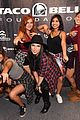 becky g austin mahone cheetahs get schooled event 05