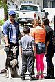 garrett clayton dog attracts fans tb2 dance rehearsal 01