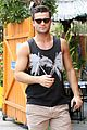 spencer boldman pool pics chicken lunch 06