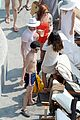 darren criss mia swier italy poolside vacation 01
