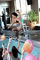 demi lovato bikini top pool party z100 katy likeness 14