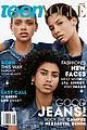 three black models teen vogue july issue 04