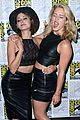 katie cassidy willa holland danielle panabaker ew comic con party 07