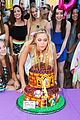 olivia holt leo howard kelli berglund nintendo birthday bash more pics 01