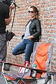 jennifer grey visit bindi irwin derek hough dwts studio thursday 15