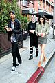 kendall jenner bares midriff in two outfits during one day 38