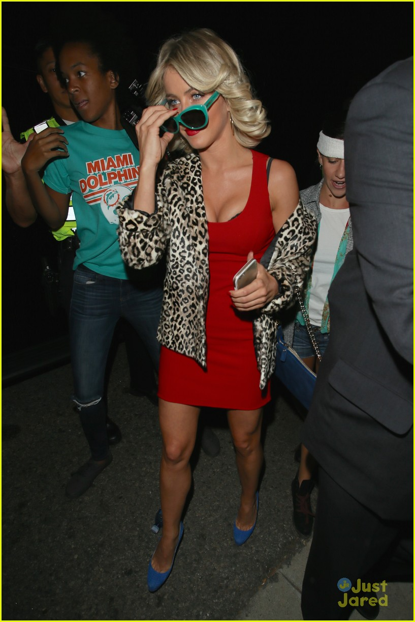 peta maks julianne derek hough more casamigos halloween party 05