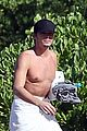 tyler blackburn shirtless body on the beach 20
