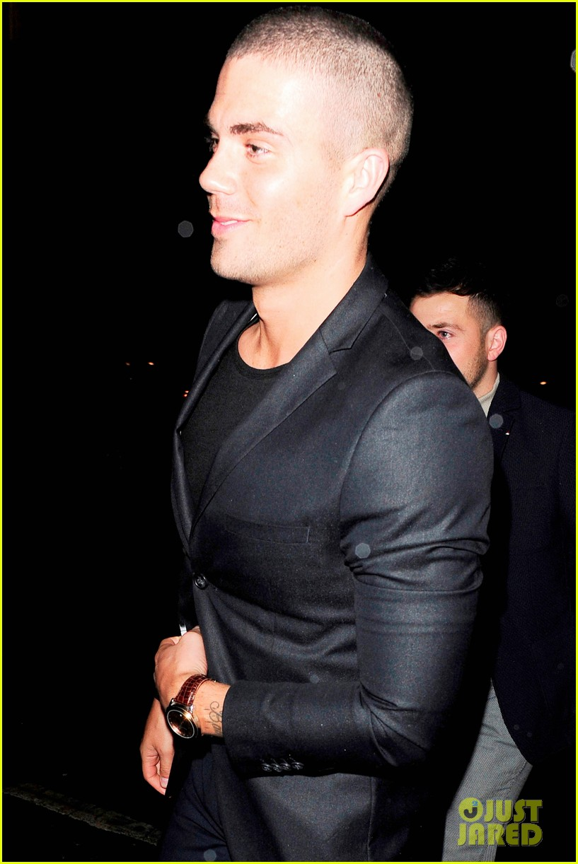 jay mcguiness support max george tom parker 12