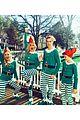 kelsea ballerini elf pajamas family 02