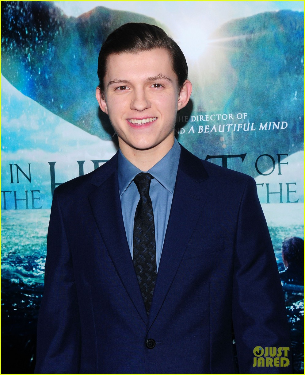 tom holland heart of sea premiere nyc 18