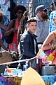 zac efron films baywatch on motorcycle 06