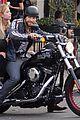 ashley benson keegan allen lunch motorcycle ride 13
