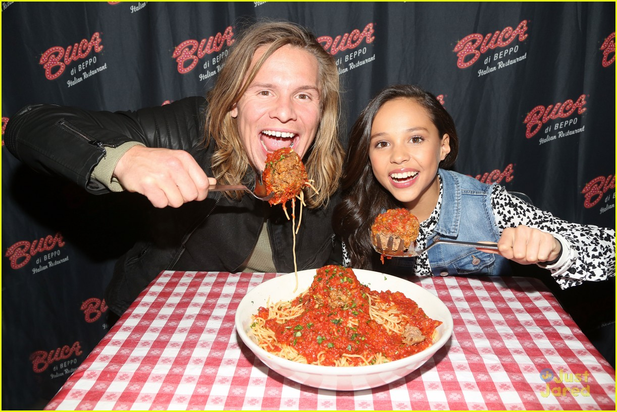 Breanna yde promotes school of rock in new york city with tony breanna yde promotes school of rock in new york city with tony cavalero thecheapjerseys Images