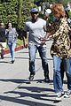 khloe kardashian kendall jenner kylie jenner disguise run from photographers 19
